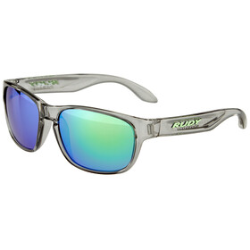 Rudy Project Sensor Glasses Crystal Ash/Multilaser Green